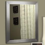 Rayne Mirrors Ava Modern Stainless Wall Mirror; 25.5'' H x 21.5'' W x 0.75'' D