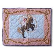 Patch Magic Cowboy Rider Pillow Sham