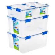Ziploc® WeatherShield Storage Box Stacking Set, 16 Quart & 60 Quart (394071)