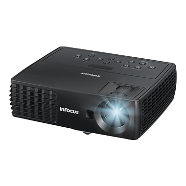 InFocus IN1112A WXGA Business Projector, Black