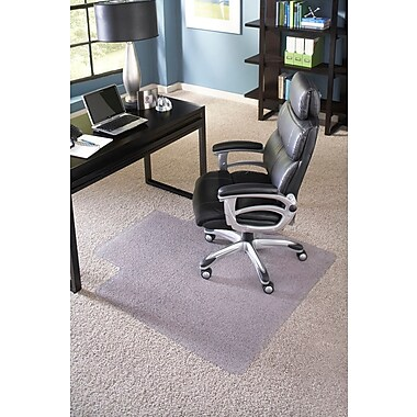 ES Robbins Big and Tall Lipped Chair Mat, 45