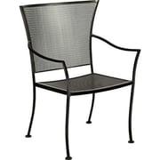 Woodard Amelie Dining Arm Chair; Graphite