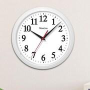 Westclox 10'' Wall Clock; White