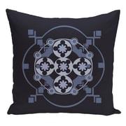 e by design Decorative Floor Pillow; Navy Blue/Blue