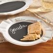 Mud Pie  Round Chalkboard Cheese Tray