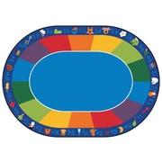 Carpets for Kids Printed Fun Area Rug w/ Phonics Horizontal; 8'3'' x 11'8''