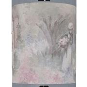 Illumalite Designs 5'' Monets Garden Drum Shade