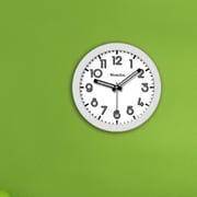 Westclox 7.75'' Round Wall Clock; White