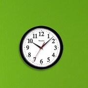 Westclox 10'' Wall Clock; Black