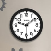 Westclox 7.75'' Round Wall Clock; Black
