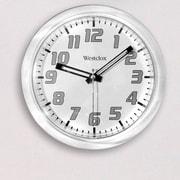 Westclox 7.75'' Round Translucent Wall Clock; Clear