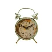 American Mercantile Metal Magnet Clock; Blue