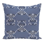 e by design Decorative Floor Pillow; Slate Blue