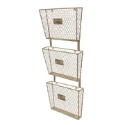 American Mercantile Metal 3 Tier File Holder