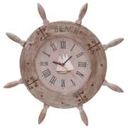 Woodland Imports 20'' Ship Wheel Wall Clock