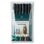 PITT Faber-Castell Artist Brush Pens (Set of 6); Landscape