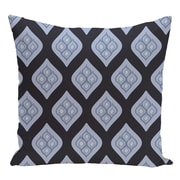 e by design Geometric Decorative Floor Pillow; Navy Blue/Light Blue