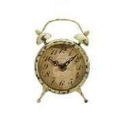 American Mercantile Metal Magnet Clock; Gray