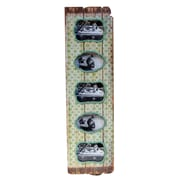 American Mercantile Wood Vertical 5 Picture Frame