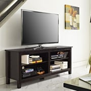 Home Loft Concepts Wood TV Stand; Espresso