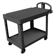 Rubbermaid Commercial Products Duty Flat Shelf Utility Cart
