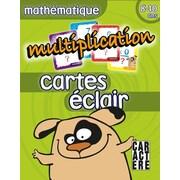 Caractère – Cartes-éclair, multiplication