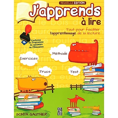 I Am Learning To Read, Activity Book (French Book), New Edition