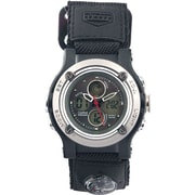 Cardinal 1927 Men's Ana-Digi Watch, Black Velcro/Nylon Strap