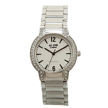 Cardinal 2399 Ladies' Crystal Boutique Dress Watch, Steel Bracelet