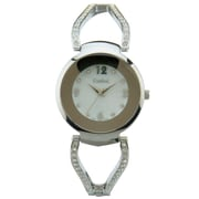 Cardinal 3091 Ladies' Crystal Boutique Dress Watch, Silver-Tone Bracelet