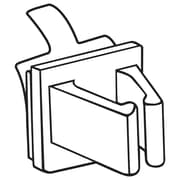 "FFR Merchandising PW-85E Pen/Wire Clip, 1/2"" H x 1/2"" W, 80/Pack (1501949900)"