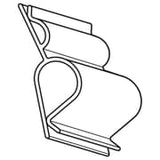 "FFR Merchandising Two-Way Sign Clip, 3/4"" W x 1 1/2"" L, 100/Pack (1506280001)"