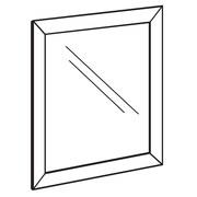 """FFR Merchandising Indoor/Outdoor Front Load Metal Sign Frame, 17"""" W x 22"""" H, 2/Pack (3701134902)"""