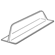 "FFR Merchandising Vacuum Formed Divider without Adhesive, 3""H x 12""L, 22/Pack (4134650300)"