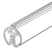 "FFR Merchandising Space Commander® Banner Hanger with Track, 48"" L, Black, 4/Pack (6115686906)"