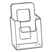 FFR Merchandising V-4 Vision Literature Holder, Wall, 10/Pack (9301825902)