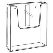 """FFR Merchandising Premier™ PR-310 Posterframe Floor Stand, Literature Pocket, 8 5/8"""" W x 9 3/8"""" H x 1 3/8"""" D, 2Pack (9302421708)"""