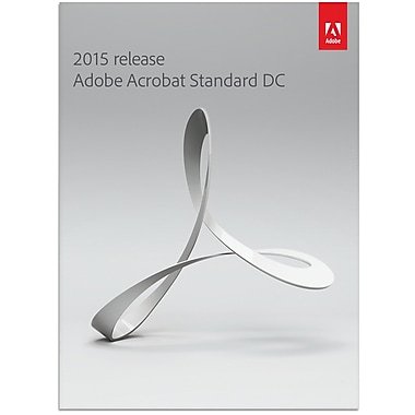 Adobe® Acrobat DC Standard for Windows, 1 User, French