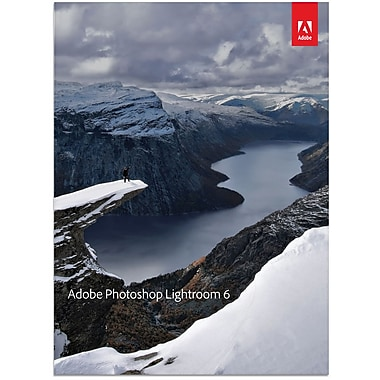 Adobe® Photoshop Lightroom 6 Multi Retail Edition, 1 User (65237712), English