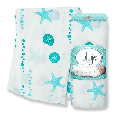 Lulujo Bamboo Swaddling Wrap