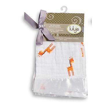 Lulujo Security Blanket, Giraffes