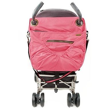 Baby Cargo Georgi Stroller Bag, Pink & Tangerine
