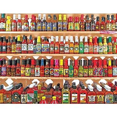 Springbok Spicy, Hot Rectangular Jigsaw Puzzle, 500 Pieces