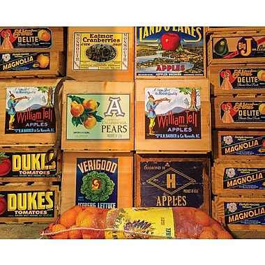 Springbok Vintage Labels Jigsaw Puzzle, 500 Pieces