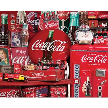 Springbok Coca Cola Memories Jigsaw Puzzle, 1500 Pieces