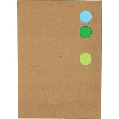 Hilroy – Cahier Pantone Circle sans spirale, 7 1/4 po x 5 1/8 po, 80 pages, motifs variés