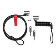 Kensington ® ClickSafe ® Anywhere Keyed Lock, Black, 2/Pack (K64661WW)
