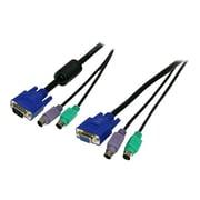 StarTech SVPS23N1 3-in-1 Premium Universal KVM Cable, 6'(L)