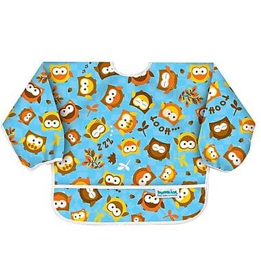 Bumkins Sleeved Bib, Owls
