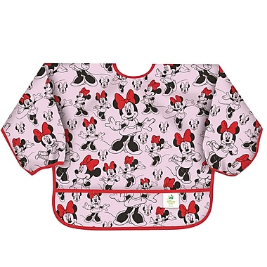 Bumkins Sleeved Bib, Minnie Classic